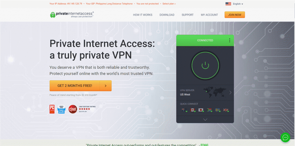Private Internet Access Review, Coupon Code & Free Trial