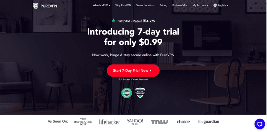 PureVPN Review, Coupon Code & Free Trial