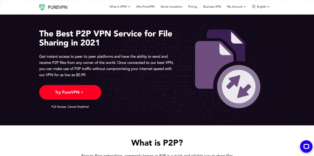 Is PureVPN Good and Safe For P2P Torrenting?