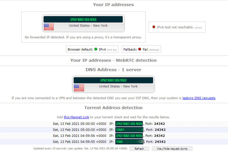 Torrenting Leak Test – Avast VPN New York