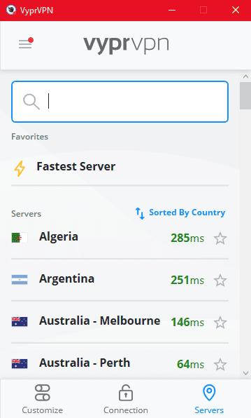 VyprVPN Netflix Servers