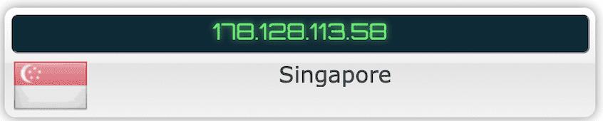 IP Leak Test – TunnelBear Singapore