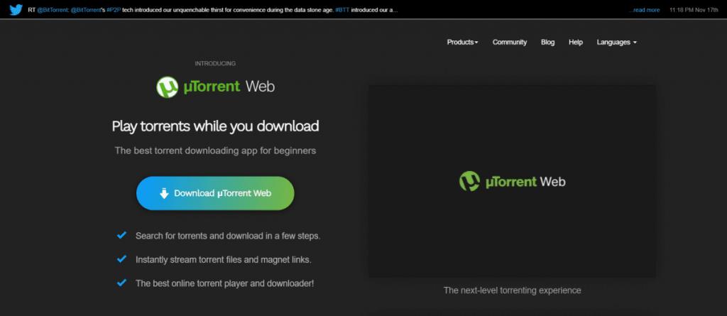 utorrent website