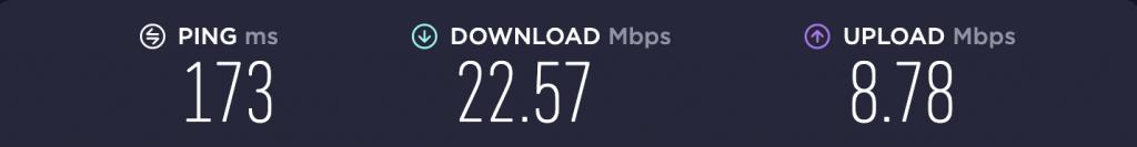 Speed Test – PureVPN US
