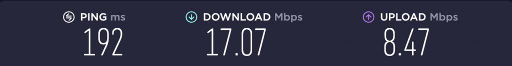 Speed Test – TunnelBear US