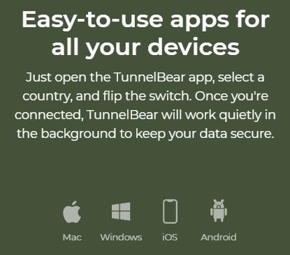 TunnelBear Compatibility