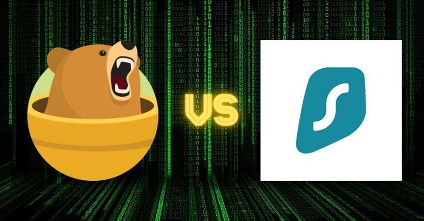 TunnelBear vs Surfshark
