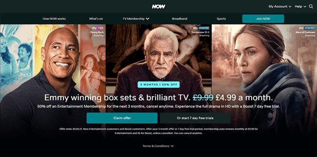 Now TV VPN: Best VPN for Now TV