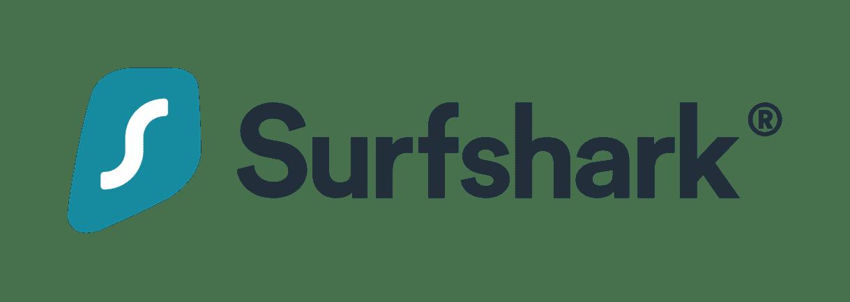 Surfshark logo horizontal